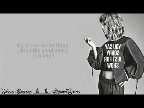Bad Blood -Taylor Swift ( Lyrics)