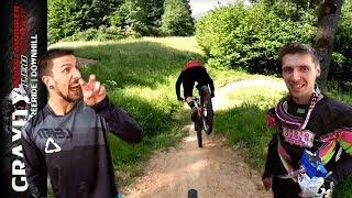Downhill & Enduro Strecke Frammersbach | Niggo sucht DER FLUCH heim! | Leo Kast UMLK #108