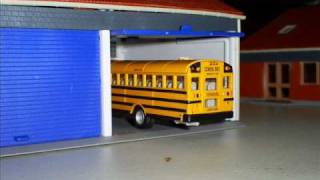 HO Scale Bus Garage