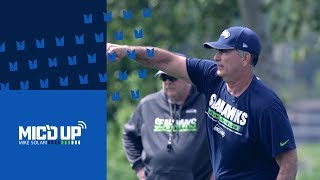 Seahawks Mic'd Up: Mike Solari at Rookie Minicamp