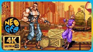 Double Dragon - Neo Geo | Arcade Gameplay in [ 4K 60FPS ] Childhood Memories