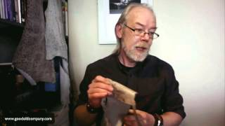 The difference in types of fish leather used in wallets belts and bags