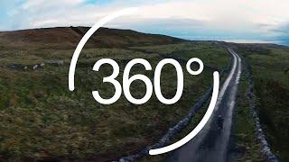 Wild Atlantic Way in 360: Mountain Biking the Burren