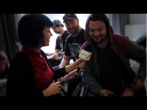 Soundwave TV: Bam Margera & CKY Paint In Their Hotel Room