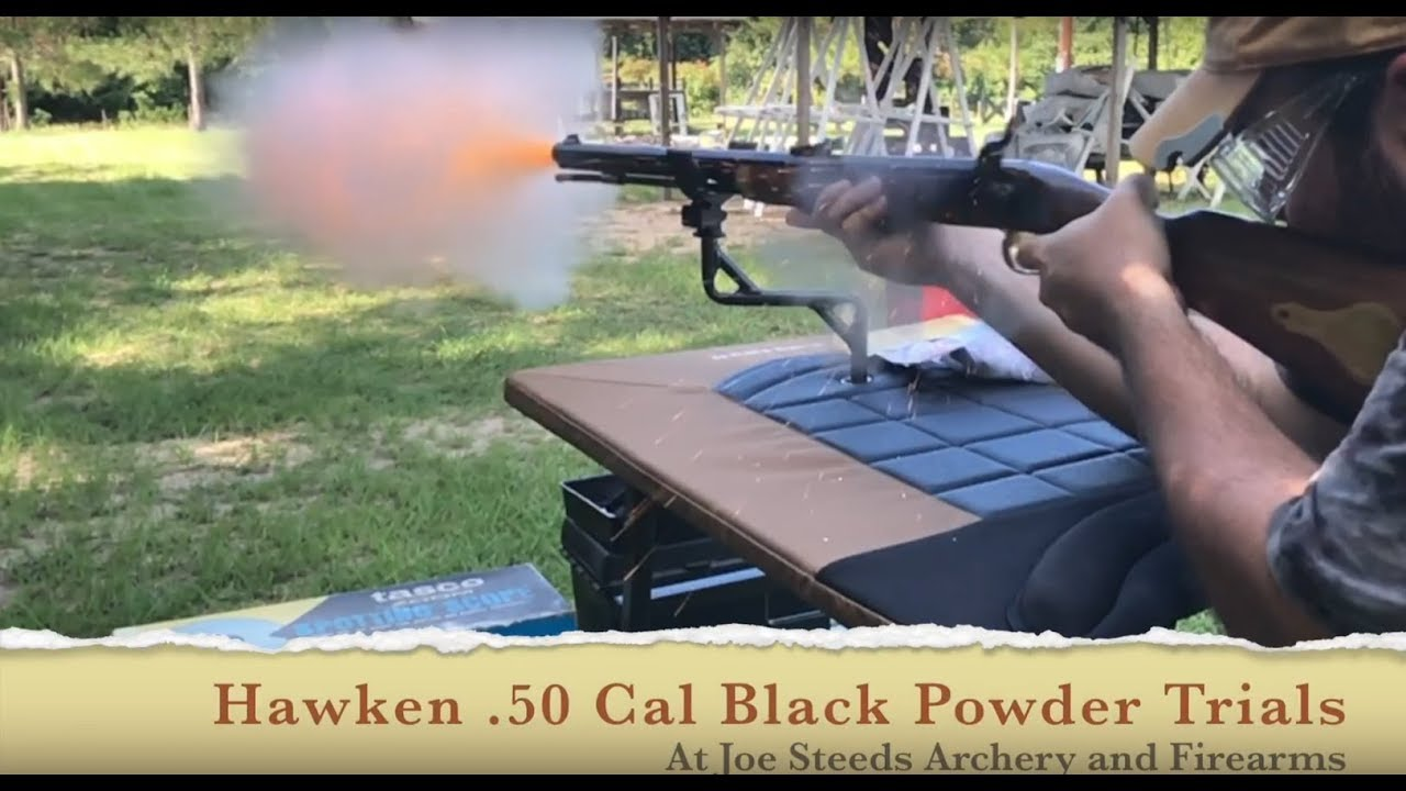 50 cal Traditions Hawken rifle Black Powder Trials