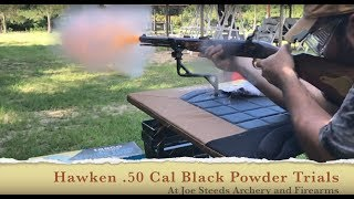 .50 cal Traditions Hawken rifle Black Powder Trials
