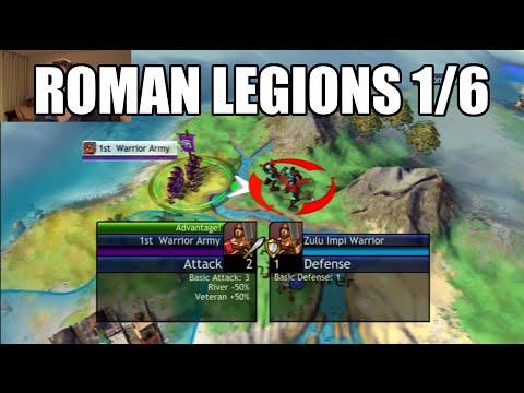 Civilization Revolution - Roman Legions 1/6
