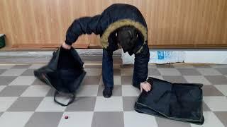 Обзор сумки Микадо 2 секции или сумка для карпового кресла.
