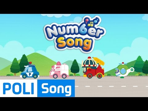 02.Number Song | Robocar Poli Educational Nursery Rhymes