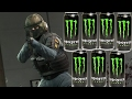CSGO | PLAYING CSGO AFTER 20 ENERGY DRINKS (GOD MODE)