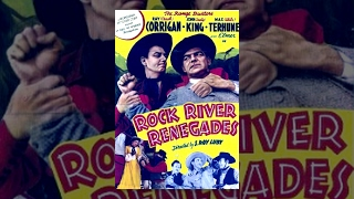 ROCK RIVER RENEGADES | The Range Busters | Ray Corrigan | Full Western Movie | English | HD | 720p