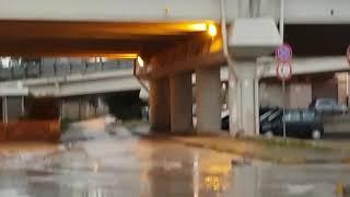 Incidente sulla 16 bis all'uscita Trani Centro del 27.11.18