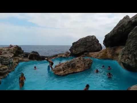 Cala d'Or Mallorca Spain natural pool