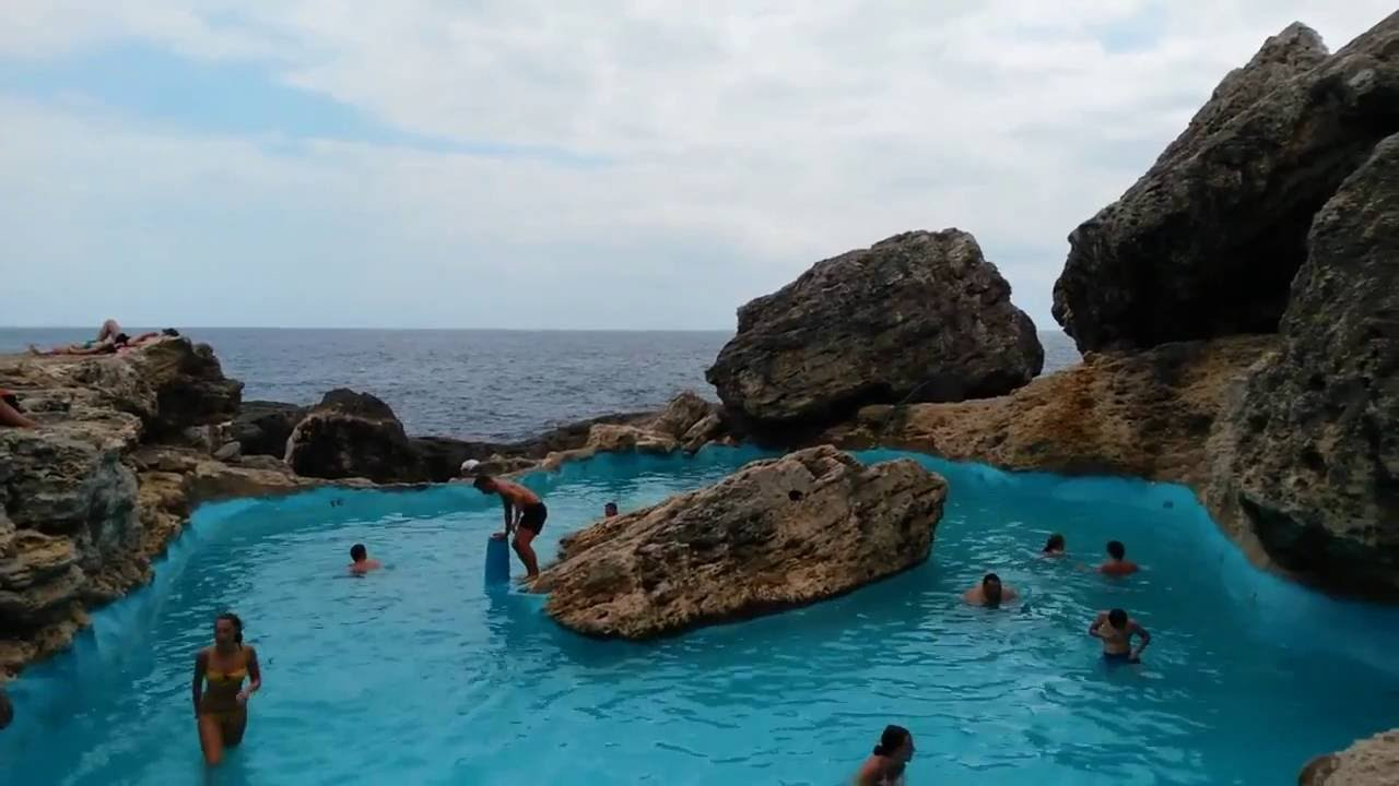 cala dor mallorca spain natural pool youtube