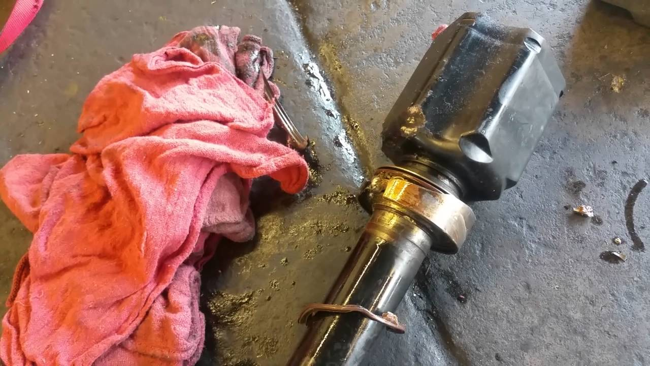 trick to remove stuck toyota cv axle bearing