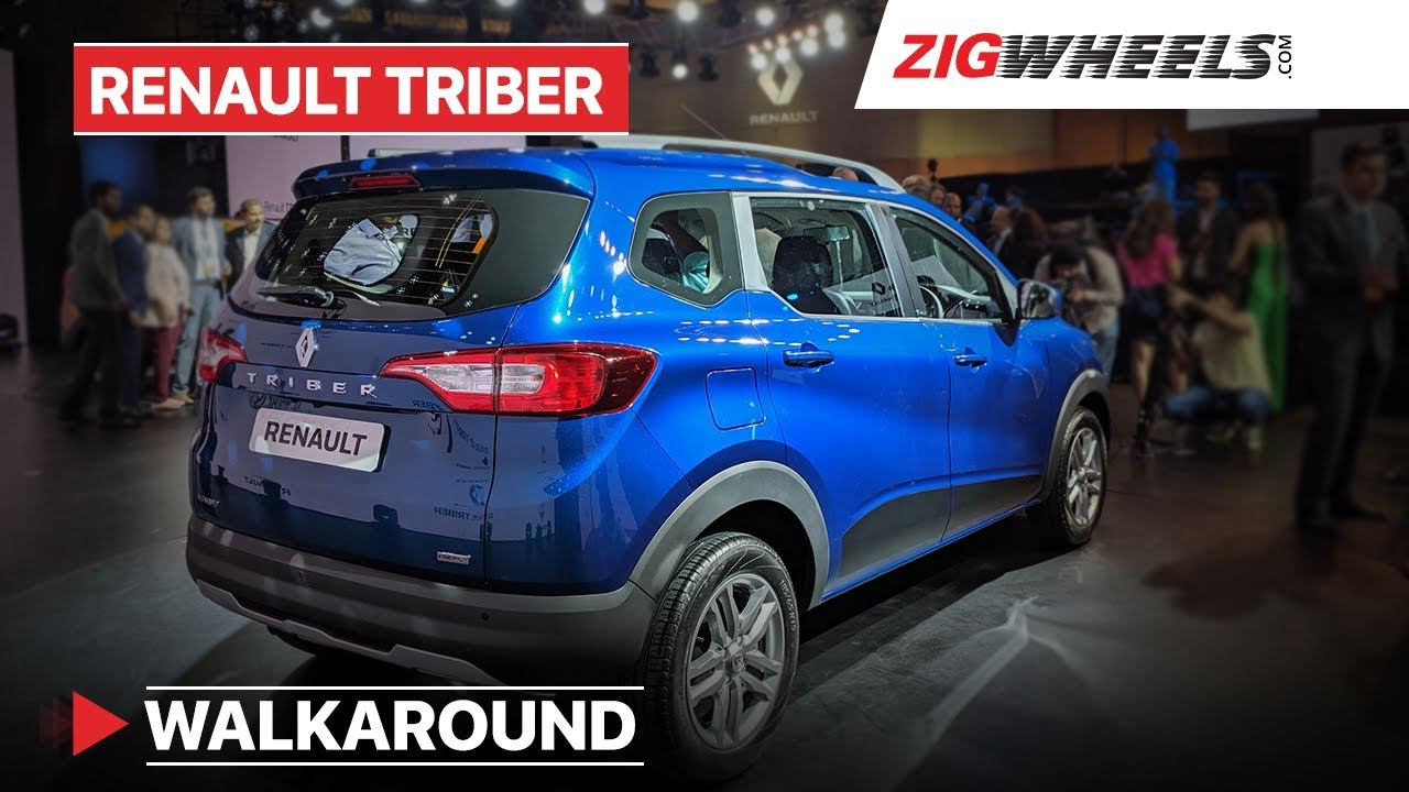 Renault Triber India Walkaround Interior Features Prices Specs
