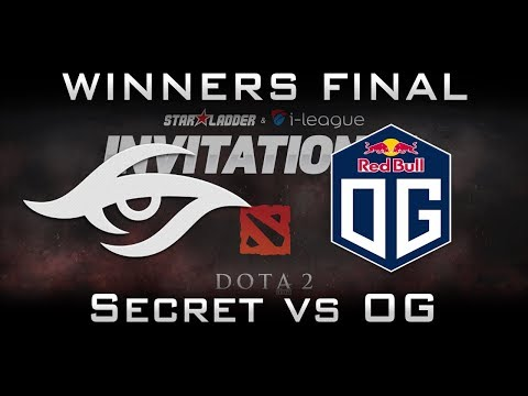 OG vs Secret Winners Final Starladder 2017 Minor EU Highlights Dota 2