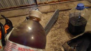видео Масло для смазки цепи бензопилы