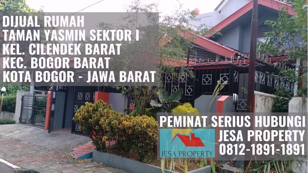 Promo Termurah Hunian Taman Yasmin Sektor 1 di Desa Cibeber II Bogor Hub  081218911891