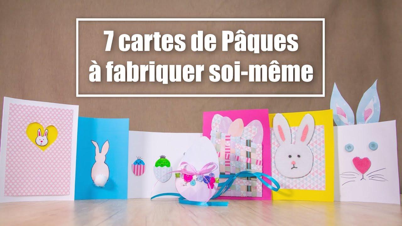 carte de paques a faire soi meme DIY cartes de Pâques : 7 tutoriels créatifs à découvrir   YouTube