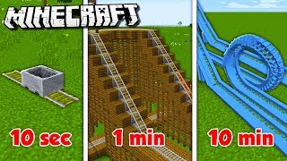 Baixar 10 MIN vs. 1 MIN vs. 10s ROLLERCOASTER CHALLENGE! (The Pals Minecraft)