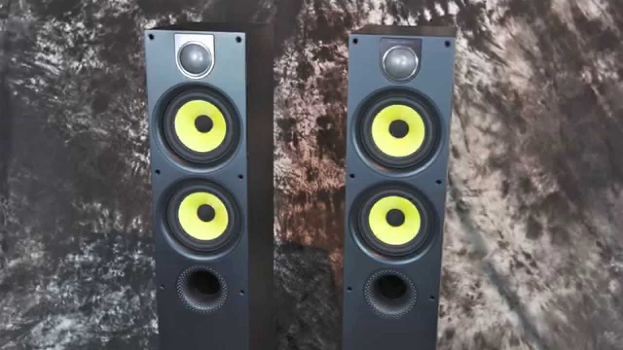 Stereo Design B Amp W Bowers Amp Wilkins 684 S2 Speakers Youtube