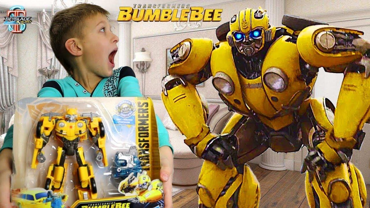 Трансформер Бамблби у Тимы ???? из фильма BumbleBee Transformers 6 (2018) - распаковка, обзор