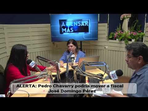 Dra Cruz Silva alerta sobre un cambio al fiscal José Domingo Perez