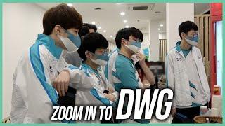 ZOOM IN TO DWG 월즈 여정기 EP.6 경기하러 가는 평범한 모습