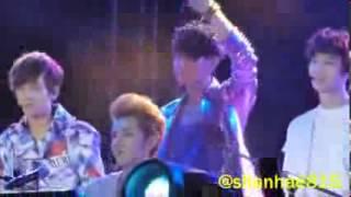 130119 - EXO singing HAWAK KAMAY @ DKFC