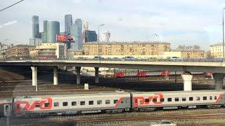 Вид из окна поезда (по МКЖД)