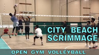 Scrimmage at City Beach (5/18/18) - Volleyball Practice for USAV Nationals 2018
