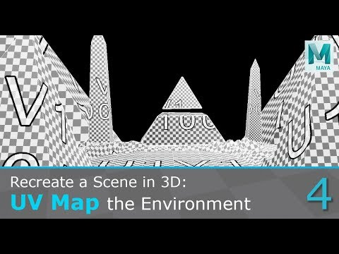 Recreate A Concept Art In 3D: UV Map The Environment
