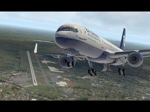 """""""Жажда скорости"""". Boeing 757-200 (FF). Комлексный отказ."""