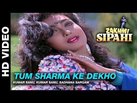 Tum Sharma Ke - Zakhmi Sipahi | Kumar Sanu & Sadhana Sargam Kumar | Mithun Chakraborty