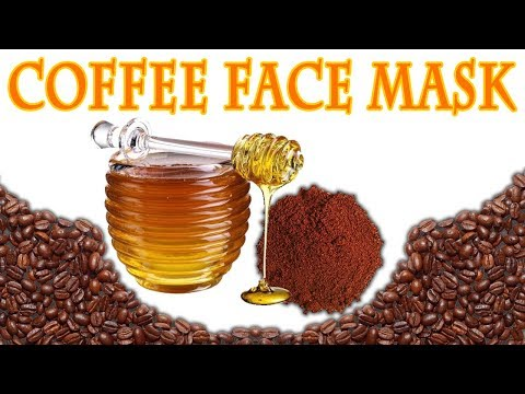 Rejuvenating Coffee Face Mask For Dull Tired Skin | 2 Ingredient Face Mask | Coffee Scrub