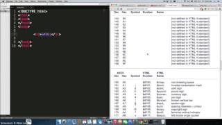 Adding Special Symbols in HTML Using ASCII Codes