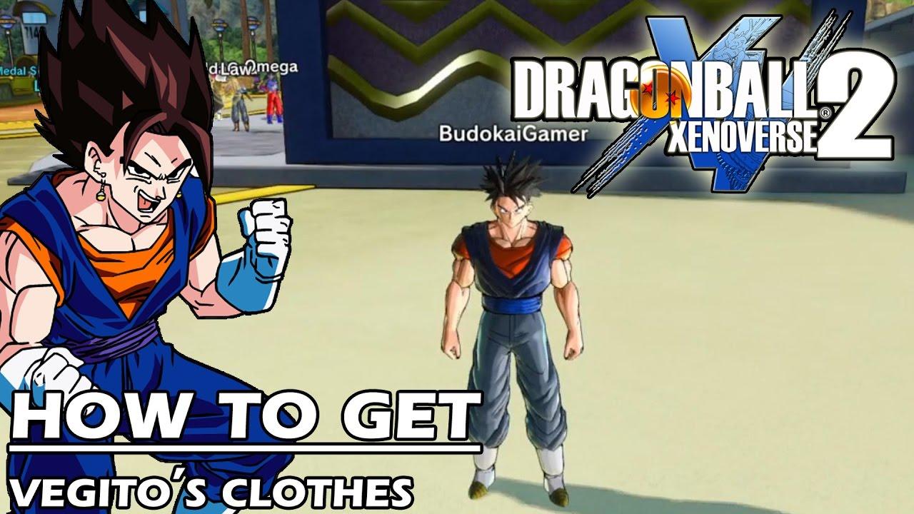 Dragon Ball Xenoverse 2 How to Get , Vegito\u0027s Clothes