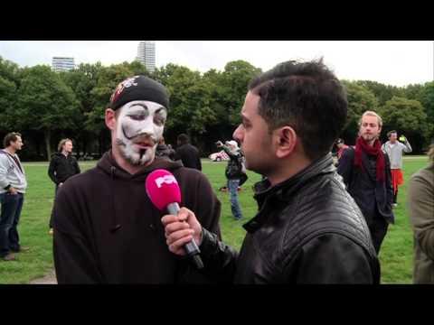 Occupy laat weer van zich horen