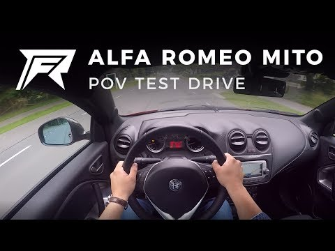 2017 Alfa Romeo MiTo Turbo TwinAir - POV Test Drive (no talking, pure driving)