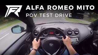 2017 Alfa Romeo MiTo Turbo TwinAir - POV Test Drive (no talking, pure driving)