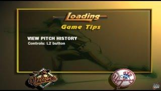 MLB 2001 - Orioles VS Yankees