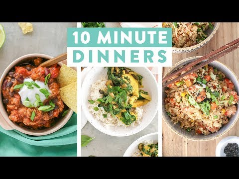 5 Dietitian-Approved Meals Ready in fifteen minutes