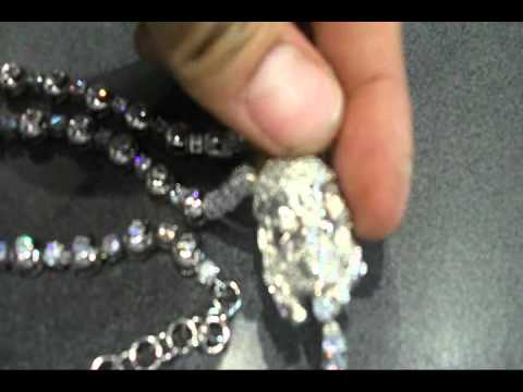 NEW All CZ Rosary necklace micropave CZ! $99 shipped