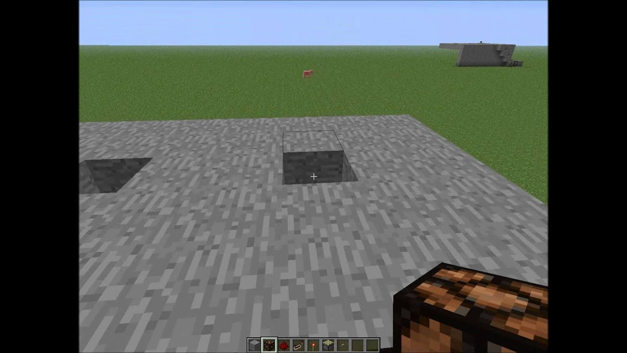 Minecraft How To Make A Light Switch Using A Button