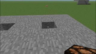 Minecraft - How to make a light switch using a button