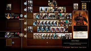 The Witcher 3: Gwent - High Score / 586 points match - 556 points round