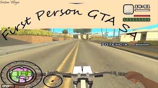 Como descargar e instalar mod primera persona GTA SA + Gameplay