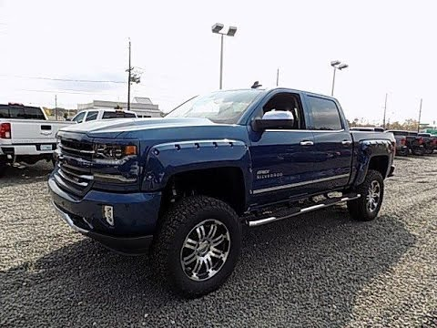 Lifted Apex 2017 Chevy Silverado 1500 Ltz Z71 Blue Youtube
