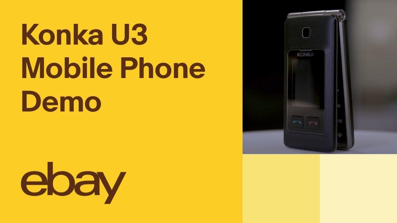 Konka U3 Mobile Phone Demo | eBay Top Products